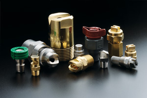 product grouping of flat spray nozzles